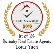1st of 24 Burnaby Real Estate Agents - Lotus Yuen
